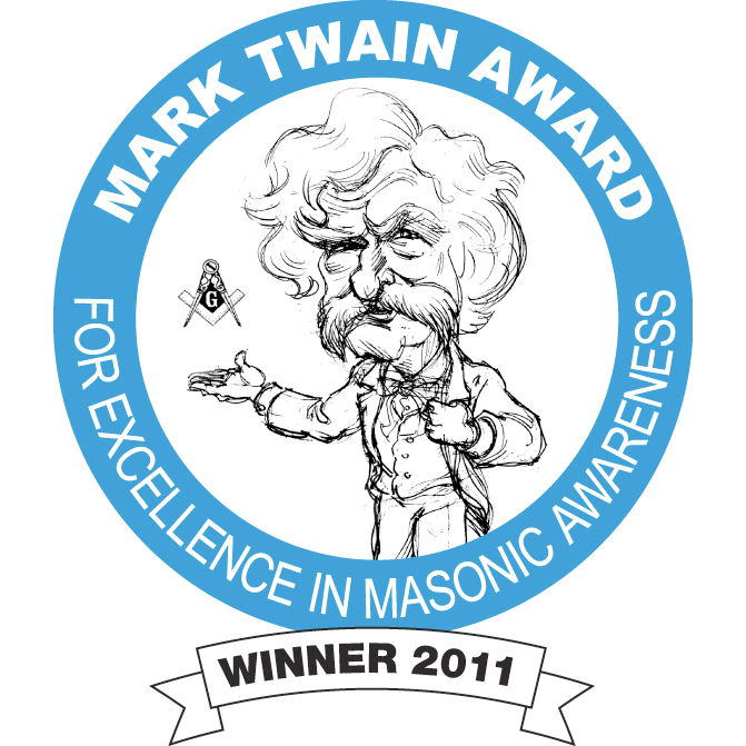 Herndon receives the Twain Award