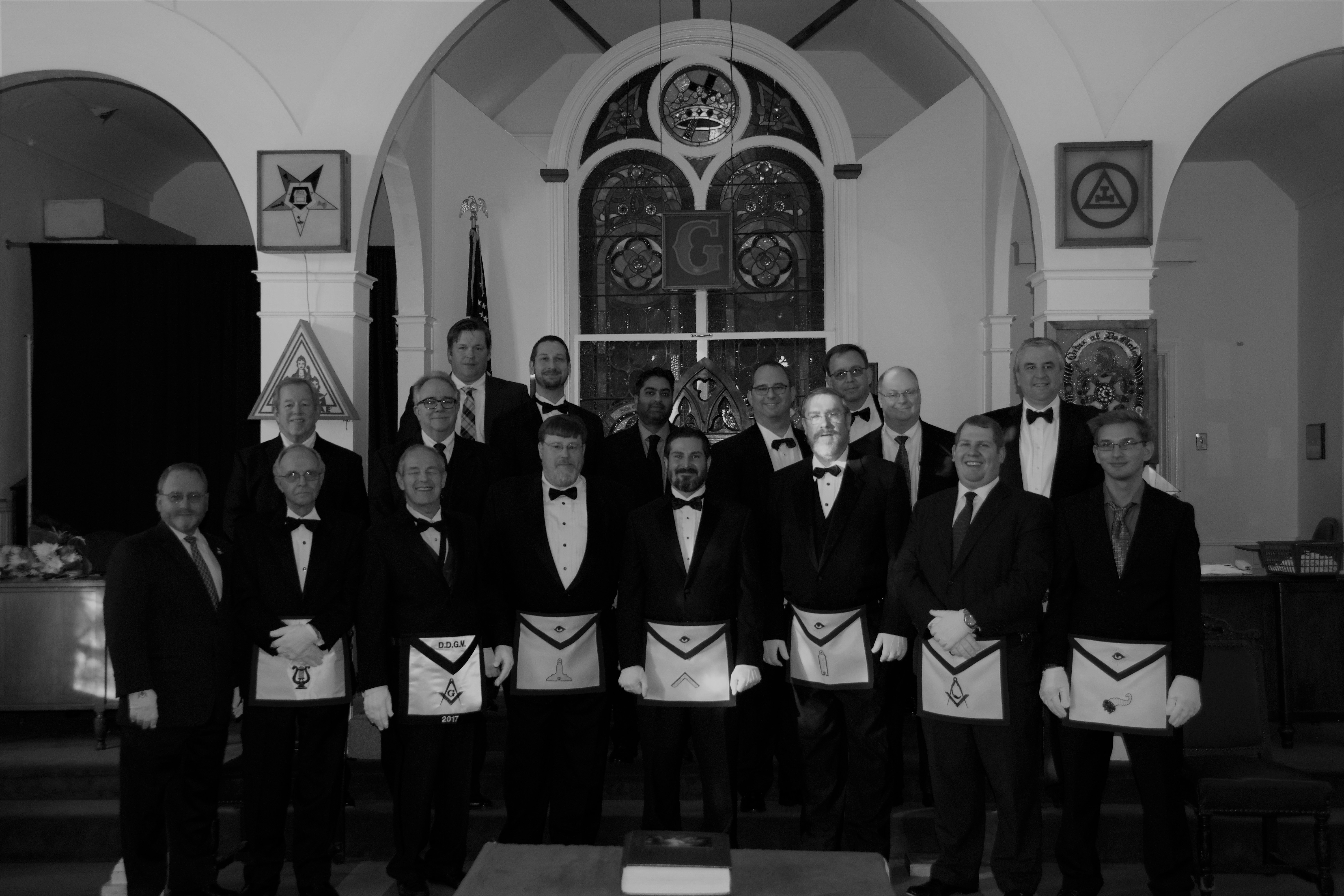Installation of 2017 Officers