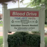July 27 Blood Drive